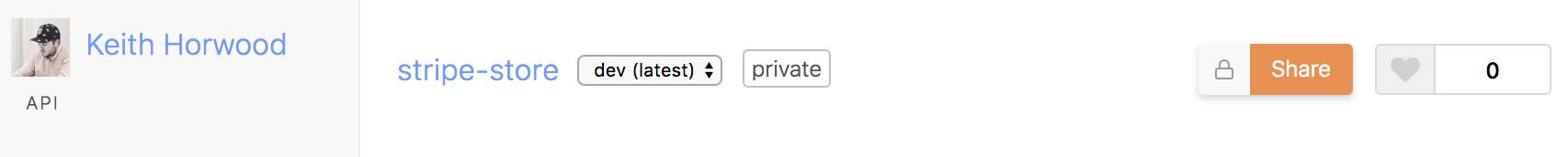 Share APIs
